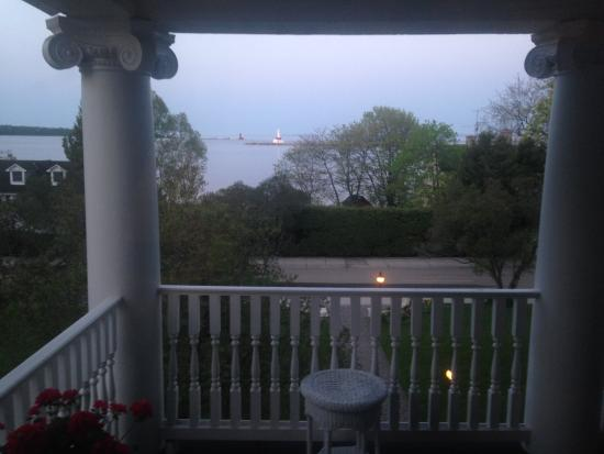 Harbour View Inn: The view from the room I stayed at in May, 2015.