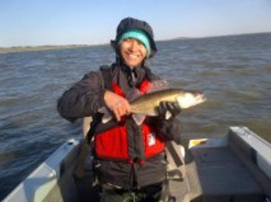 Eagle Lake RV Resort: Walleye fishing.