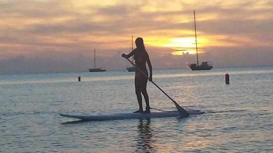 Sunset Paddle Boqueron Bay!
