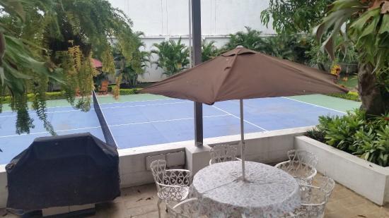 Hotel Boutique Villa Casuarinas: Único hotel con cancha de Tennis