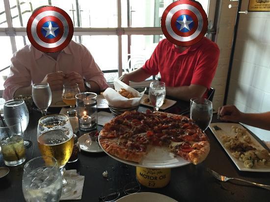 Garage Grill & Fuel Bar : The Big Sicilian Pizza