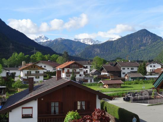 Hotel Pension Bavaria: View from our balcony