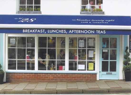 Number 28: FRONT OF CAFE