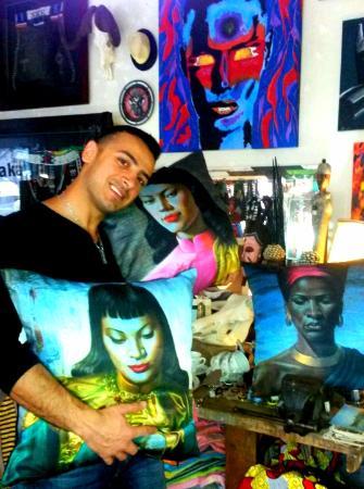 Baraka Gifts and Decor : Just bought 4 Tretchikoff cushions ;)