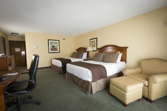Red Lion Hotel Kalispell: Double Queen Guest Room