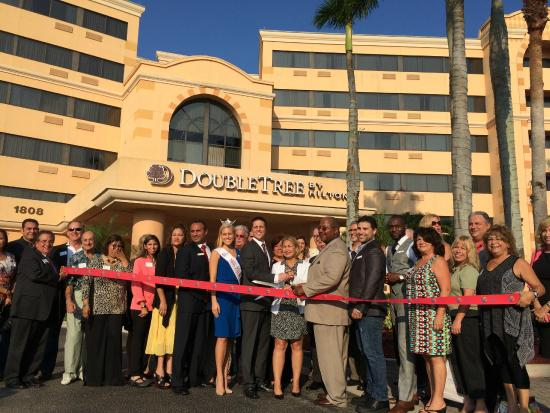 DoubleTree by Hilton Hotel West Palm Beach Airport: Grand Re-Opening, May 2015
