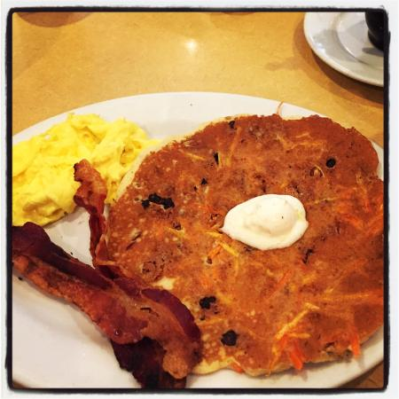 FirstWatch: Carrot cake pancake breakfast