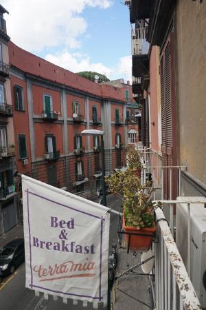 B&B Terra Mia : balcony