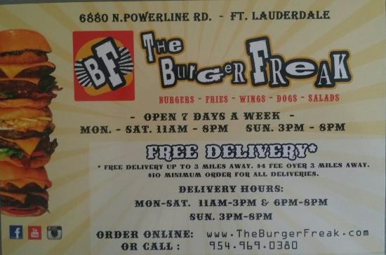 The Burger Freak