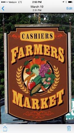 Cashiers Farmers Market: 20 Years (1995-2015)