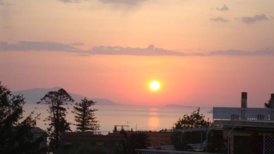Sunset fro La Primavera Massa Lubrense