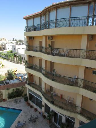 Mariam Hotel Balconies Pool