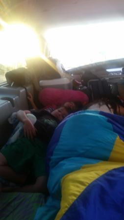 Suburban Extended Stay of Fort Myers: family sleeping in car