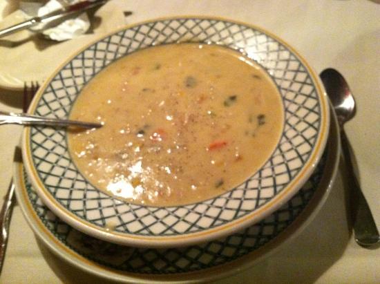 Gasthaus : Crab Bisque soup