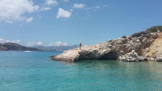 Istron Villas : golden beach