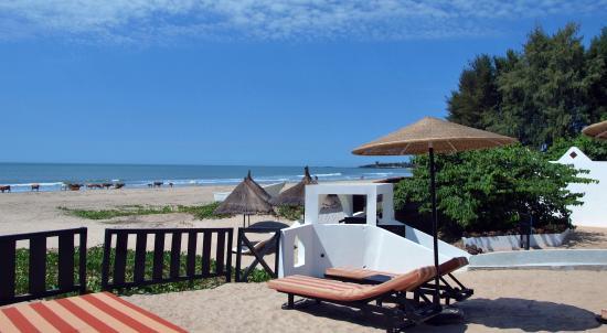 Hotel Villa Des Pecheurs : Bord de mer accés plage