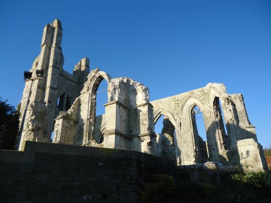 Ruines de l'Eglise d'Ablain-Saint-Nazaire: ruines de l'Eglise d'Ablain Saint Nazaire