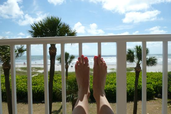 International Palms Resort & Conference Center Cocoa Beach: VIEW FROM OCEAN FRONT SUITE