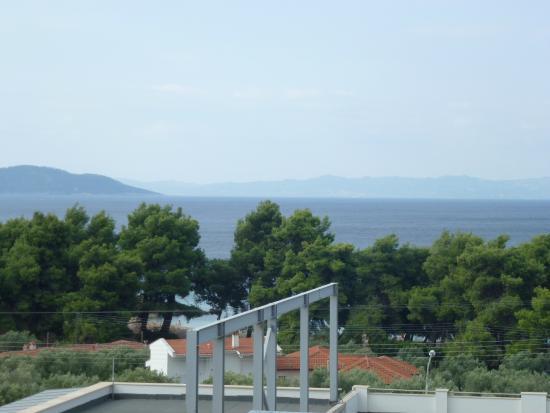 Lagomandra Hotel & Spa: Вид из номера