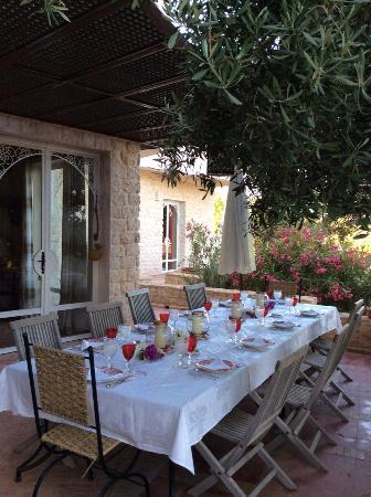 Dar Diamar: la table