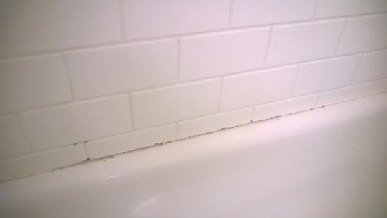 Fairfield Inn & Suites Amarillo West/Medical Center: Mold on tub wall