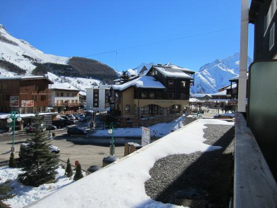 Les Airelles: View from our balcony