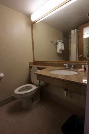 Days Inn Bloomington West: Bathroom