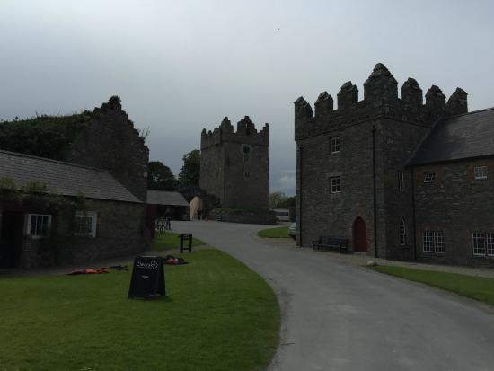The farmyard and site of Winterfell