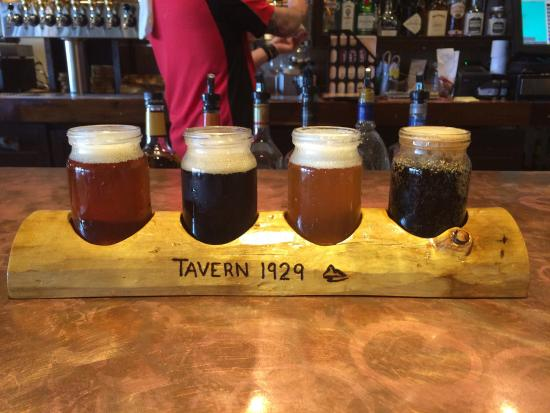 Tavern 1929: Great Beer that is small batch brewed!