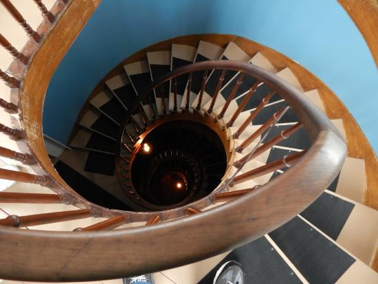 The Octagon House: Spiral Staircase