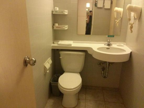 Jinjiang Inn (Guilin Qixing): Western toilet
