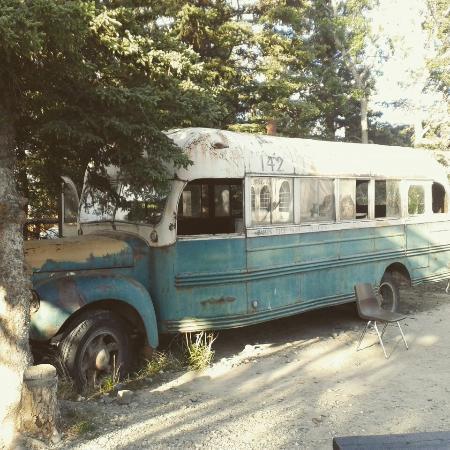 "Healy, AK: Magic bus from ""Into the wild"" (replica)"