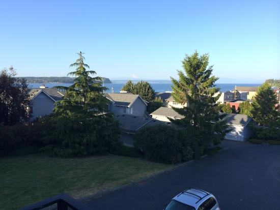 The Coupeville Inn: view from 2nd floor