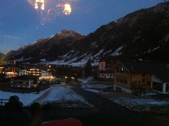 Kristiania Lech : Visto do hotel
