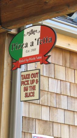 Pizza a'fetta : our favorite pizza in Cannon Beach