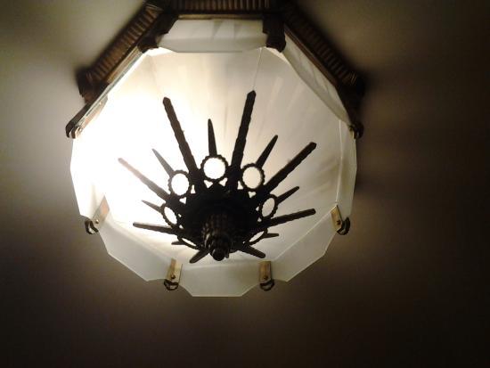 Ambassador Hotel: unique lights throughout