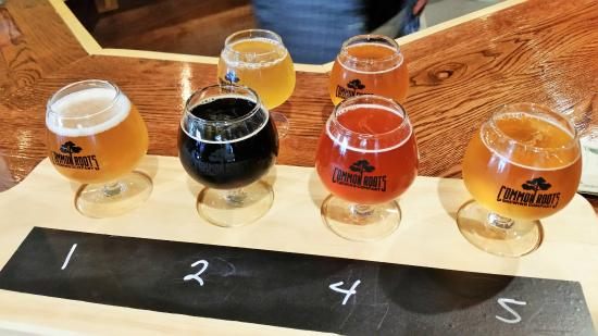 South Glens Falls, นิวยอร์ก: A flight is four beers... but why stop there?