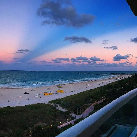 Marriott Stanton South Beach: View from my room