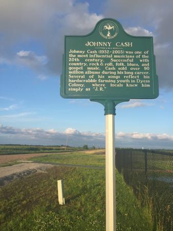 Johnny Cash House: Nice detour