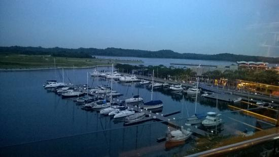 View From Club Lounge Picture Of Hotel Jen Puteri Harbour Johor