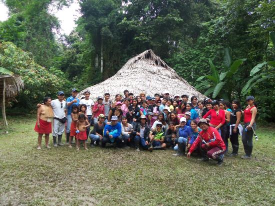 Amazon King Lodge : Comunidad Yagua del rio Yanayacu, Iquitos, Peru