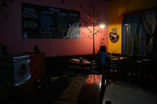 Restaurant El Mexicano: Su ambiente es acogedor pero sencillo