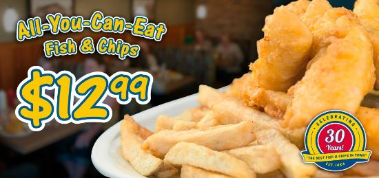 C-Lovers Fish & Chips: All You Can Eat