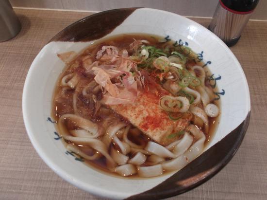 Meidai Kishimen Sumiyoshi : 基本のきしめん