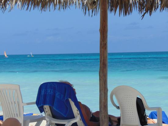 Iberostar Playa Alameda Hotel: Postal de la hermosa e increible playa del hotel...