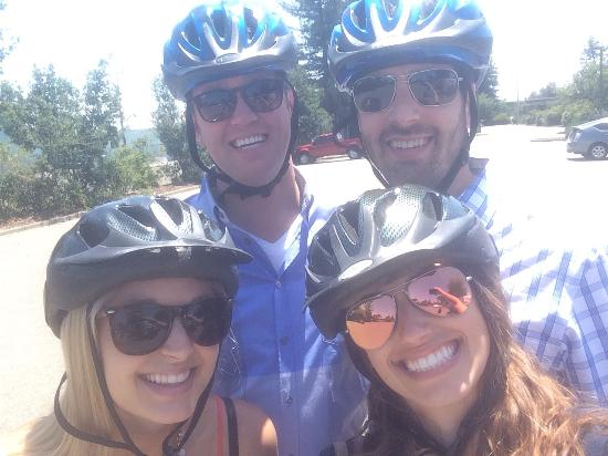 Segway of Healdsburg : Trained and ready to get started