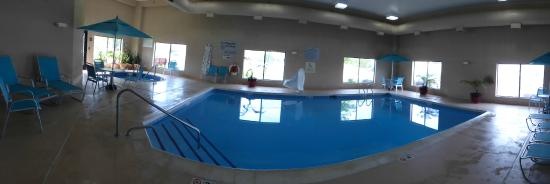 Hampton Inn South Haven: A Panorama of the Pool Area