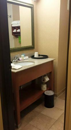 Hampton Inn Abilene: Bathroom