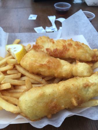 Island Fish & Chips: fish and chips