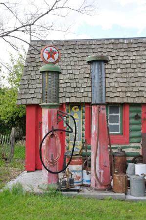 Old Gas Pumps/Station